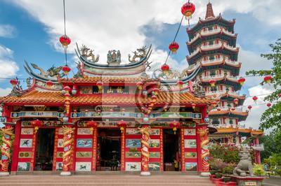 Templo chino en Tuaran