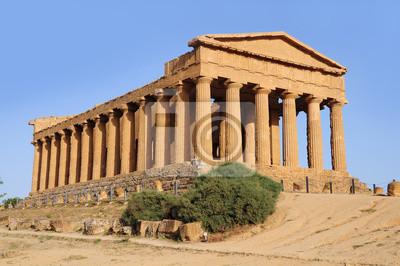 Templo de la Concordia. Agrigento. Sicilia.