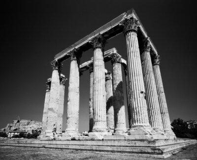 Póster Templo de Zeus