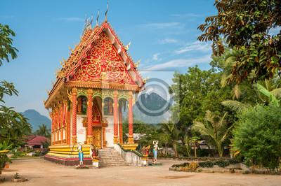 Templo en Vang Vieng