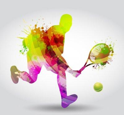 Póster Tenis, competizione, torneo