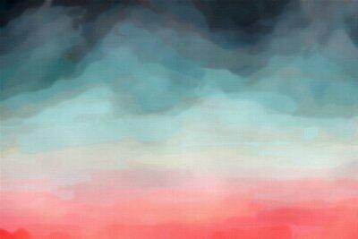 Póster Textura de la acuarela abstracta