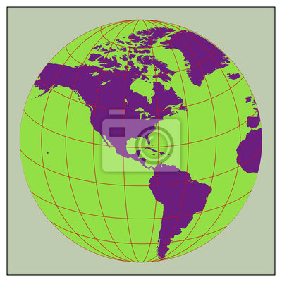 Tierra del globo