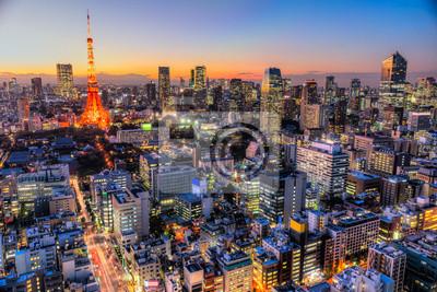 Póster Tokio, Japón.