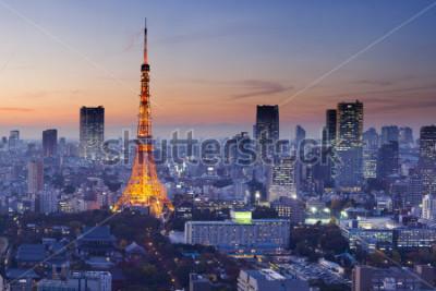 Póster Tokyo Tower, Tokyo, Japan