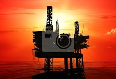 Torre de perforación petrolera