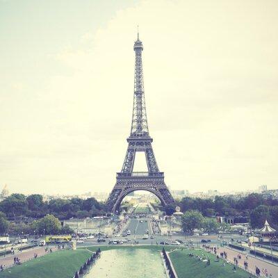 Póster Torre Eiffel en París