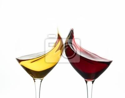 Tostar los vidrios de vino