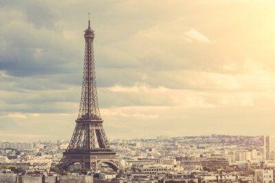 Póster Tour Eiffel en París