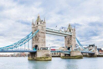 Póster Tower Bridge en Londres, Reino Unido