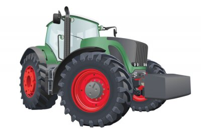 Póster Tractor Vector