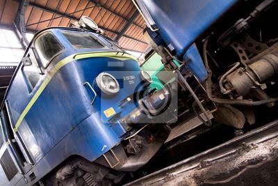 tren azul