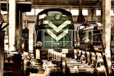 tren de carga de edad