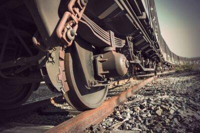 Póster tren de época