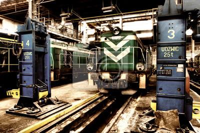 Tren polaca vieja