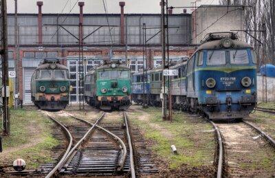 Trenes polacos viejos