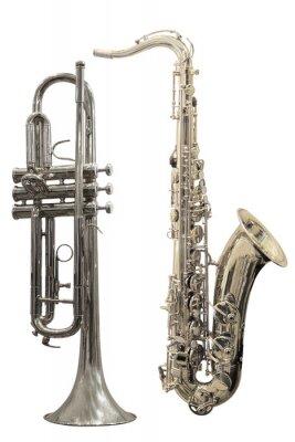 Póster trompetas