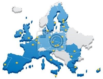 Unión Europea Mapa