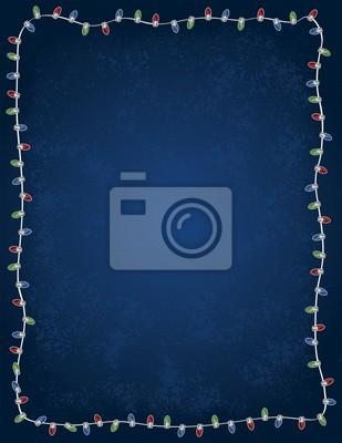 Vacaciones de fondo Luz de la Navidad