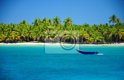 Vacaciones en la playa exótica