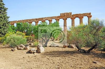 Valle de los Templos. Agrigento. Sicilia.