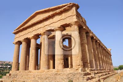 Valle de los Templos. Agrigento. Sicilia. Italia.