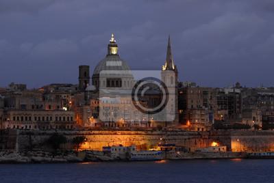 Valletta en el puerto de Slima