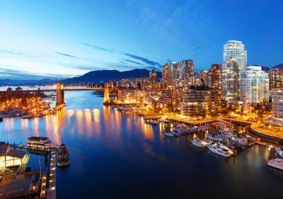 Póster Vancouver en Canadá