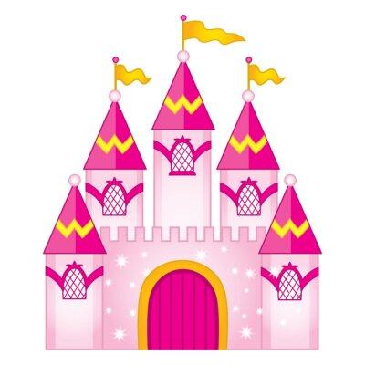 Póster Vector Magic Fairytale Castle