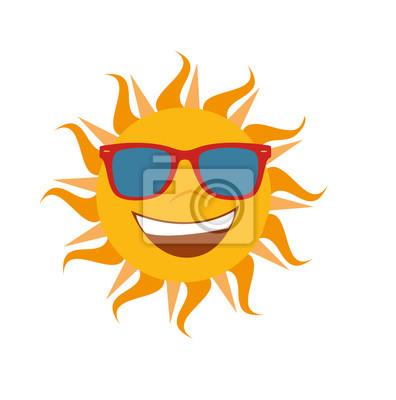 Vector sol verano exentos