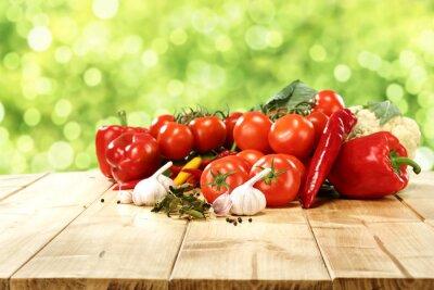 Póster vegetales