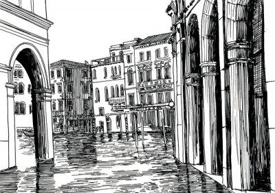 Póster Venecia A