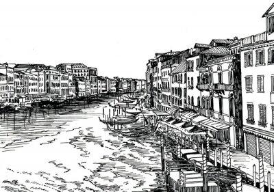 Póster Venecia B