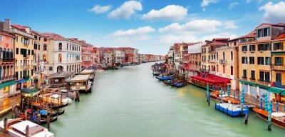Póster Venecia - Puente de Rialto y el Gran Canal