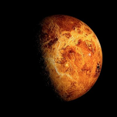 Póster Venus Elementos de esta imagen proporcionados por la NASA