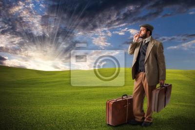 Póster Viaggiatore