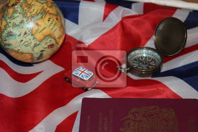 Póster Viajar a Reino Unido