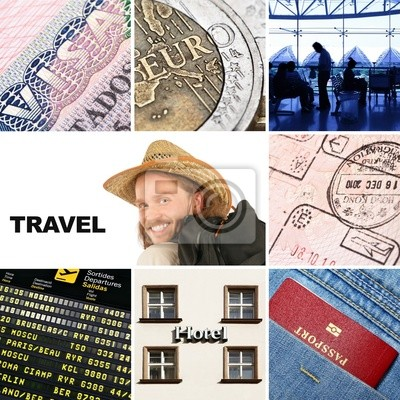Póster viajes