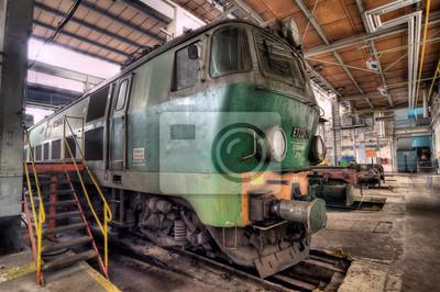 viejo tren