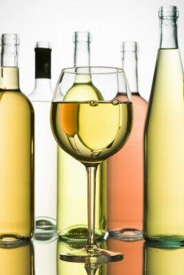 Póster vino blanco