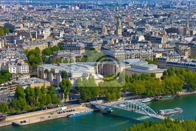 Vista aérea de París