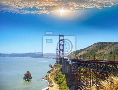 Vista del Golden Gate por Visit Point