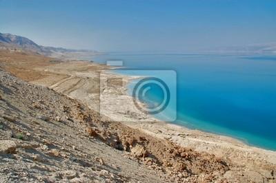 Vista del mar muerto, Israel