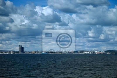 Vista panorámica de Gdynia