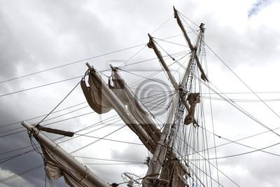 Voilier, voile, estera, bateau, navire, viaje, croisière, mer