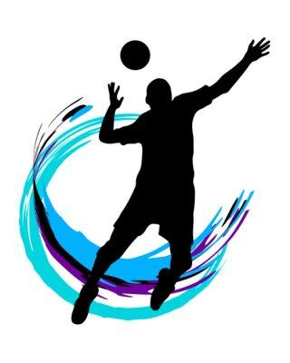 Póster Voleibol - 89