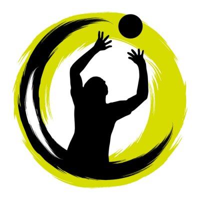 Póster Voleibol - 99