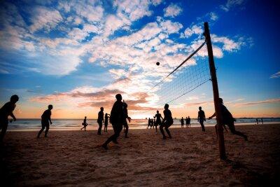 Póster Voleibol de playa