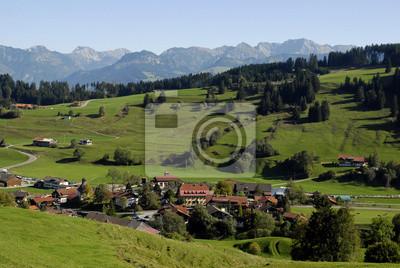 Vor Gunzesried Allgäuer Alpen