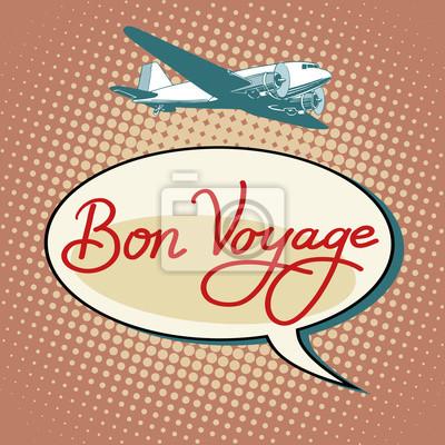Vuelos de avión de Bon voyage